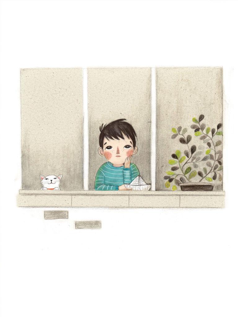 Marina Michailidou-Kadi Waiting for the rain